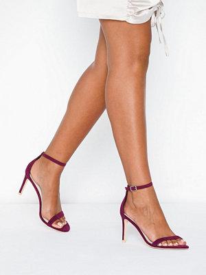 Pumps & klackskor - NLY Shoes Heel Sandal Lila