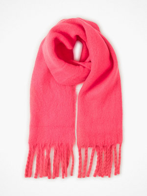 Halsdukar & scarves - Only Onlemma Solid Heavy Brush Knockout Pink