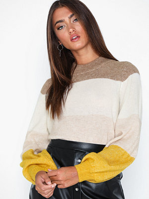 Tröjor - Selected Femme Slfanna Ls X-Mas Knit O-Neck B