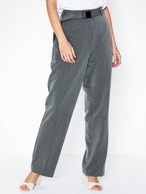 NORR grå byxor Lennox HW Pants