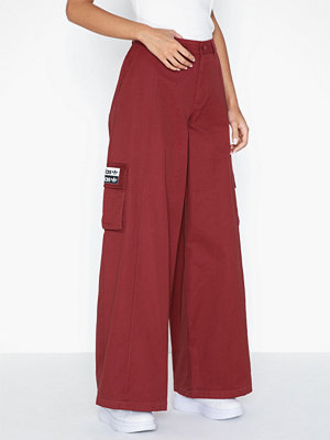 Adidas Originals vinröda byxor Track Pants