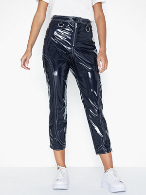 For Love & Lemons marinblå byxor Idol Vinyl Pants
