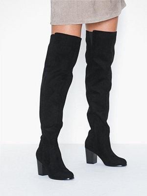 Stövlar & stövletter - NLY Shoes Thigh High Wood Heel