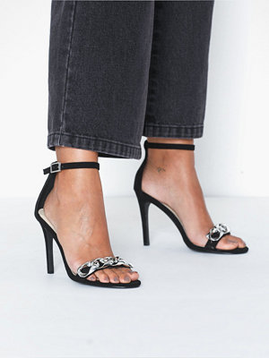 NLY Shoes Strap Heel Chain Sandal