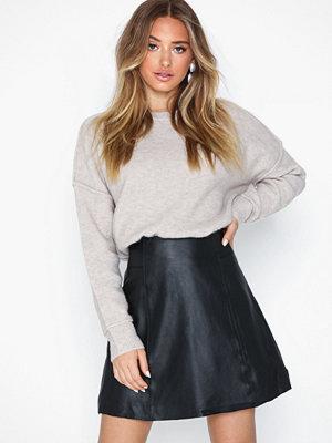 Selected Femme Slfbobi Mw Leather Skirt B