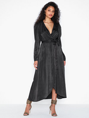 Vero Moda Vmjulia V-Neck Ls Calf Dress Vma Ki