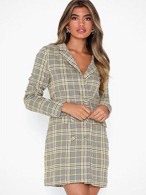 Missguided Blazer Dress Heritage Check