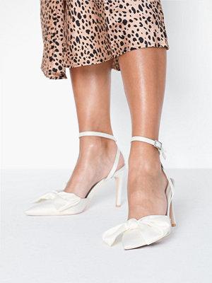 Pumps & klackskor - NLY Shoes Satin Bow Heel