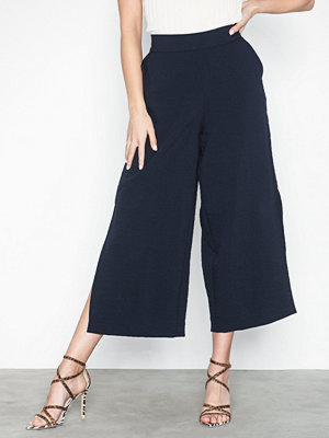 Vila marinblå byxor Vilinea Rw 7/8 Pants/1