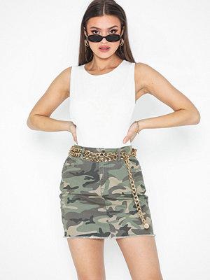 Only Onlrhonda Mid Camu Skirt Pnt