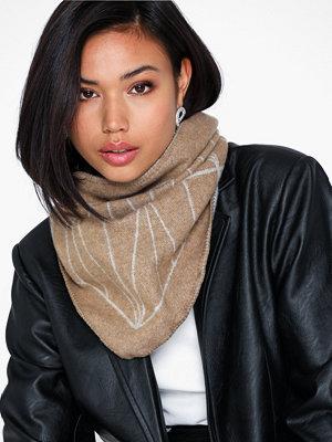 Dagmar Grid scarf small