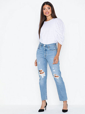 Levi's 501 Crop Montgomery Patched