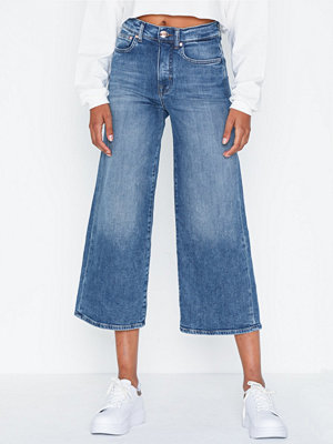 Only Onlmadison Hw Wide Crop Dnm Jeans R