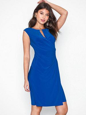 Lauren Ralph Lauren Elkana-Cap Sleeve-Day Dress