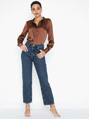 Selected Femme Slfkate Hw Straight Inky Blu Jean W