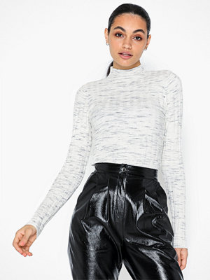Topshop Knitted Marl Funnel Neck Top
