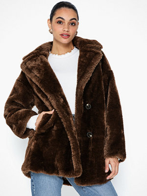 Topshop Soft Borg Coat