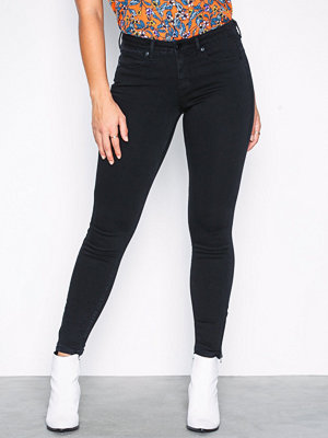 Noisy May Nmkimmy Nw Ankle Zip Jeans Black No