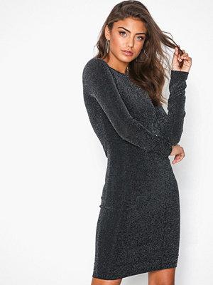 NLY Trend Sparkle Dress Svart