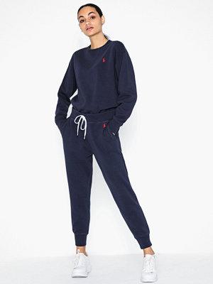 Polo Ralph Lauren marinblå byxor Ankle Sweatpant