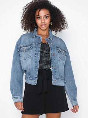Jeansjackor - Only onlGLOW Oversized Boxy Jacket Bb Gu