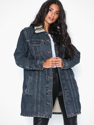 Jeansjackor - Lee Jeans Sherpa Duster