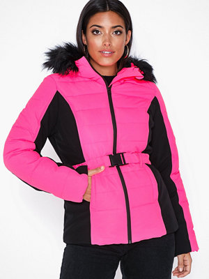 Missguided Ski Neon Padded Jacket