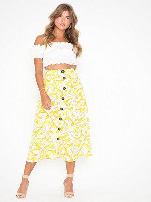 Selected Femme Slfprimrose Mw Midi Skirt Ka