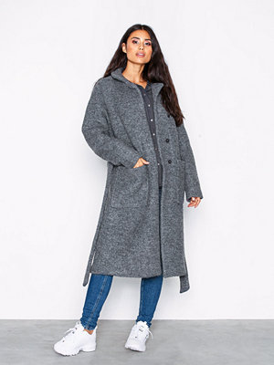 Noisy May Nmzoe L/S Coat Noos Grå