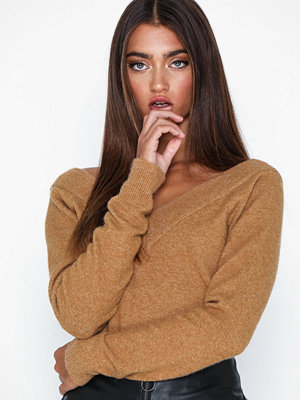 Noisy May Nmmeryl L/S V-Neck Knit