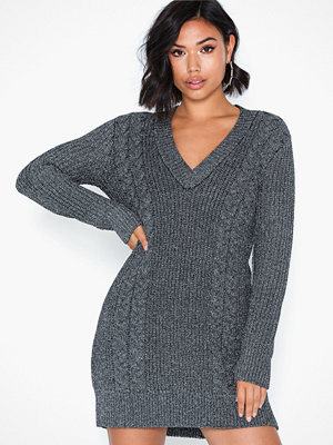 Ivyrevel Metallic Cable Knit Dress