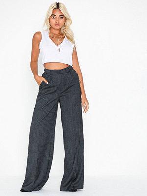 Selected Femme byxor Slfnellie Hw Wide Pant B