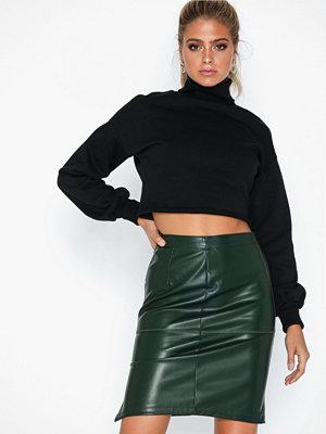 Vila Vipen New Skirt-Noos Mörk Grön