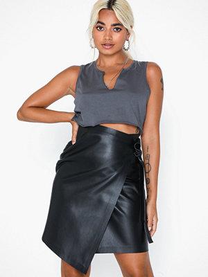 Ivyrevel High Waist Overlap Skirt