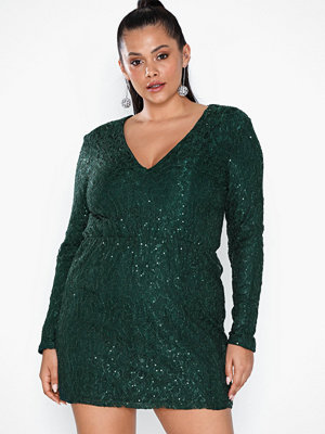 NLY Trend Sparkly Lace Dress