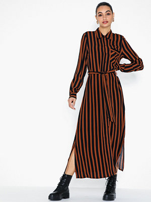 Selected Femme Slfflorenta Ls Aop Ankle Shirt Dres