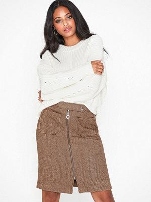 Vero Moda Vmtoya Ak Hw Herringbone Skirt Ki