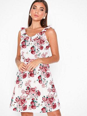 Vero Moda Vmane S/L Frill Short Dress Exp