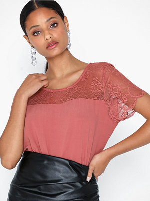 Vila Vimero Lace S/S Top/Su - Fav