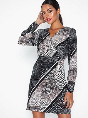 Vero Moda Vmisolde Stripe Ls Short Dress