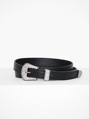 NLY Accessories Sparkle Slim Belt