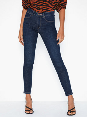 Wrangler High Rise Skinny Night Blue