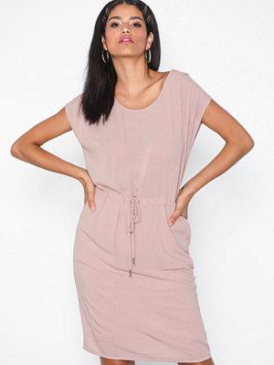 Object Collectors Item Objbay Dallas S/S Dress Noos Ljus Rosa