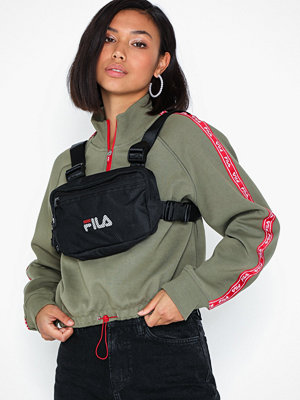 Fila svart ryggsäck Chest Bag