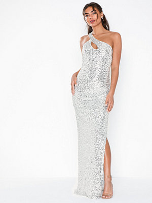 NLY Eve One Shoulder Sparkling Gown