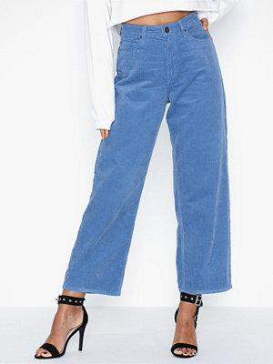 Lee Jeans 5 Pocket Wide Leg Frost Blue