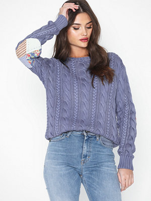 Polo Ralph Lauren Ls Elbw Ptch-Long Sleeve-Sweater