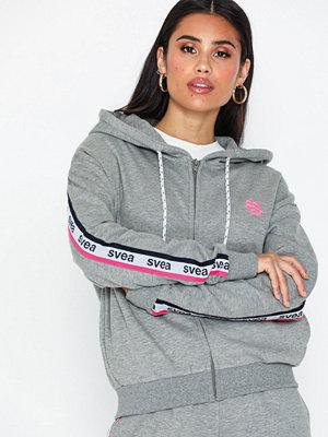 Svea Svea Woven Logo Tape Zip Hood