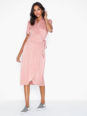 Pieces Pcjean Ss Wrap Dress