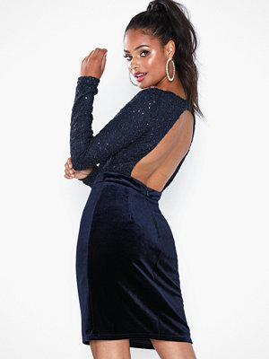NLY Eve Sparkle Lace Top Dress